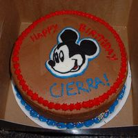 Mickey Practice cake that my mom took to work for a co-worker's daughter's bday. New to fbcts.