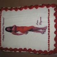 Beyonce A sheet cake for a little girl who loves Beyonce.