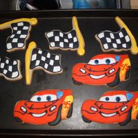 Cars Cookies These are the first decorated cookies that I have made!! I would like to thank Mangia mangia for the know how... This is also my first paid...