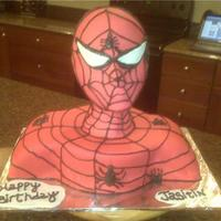 Spiderman Thanks Cake Central for the info on how to do this! Fun cake and didn't take very long (compared to some other cake's i've...