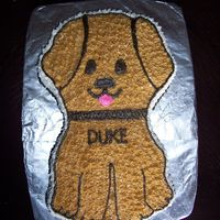Duke Turned One   buttercream icing used for this