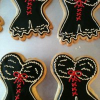 Lingerie Cookies These were for a bridal shower. I thought they turned out fabulously!