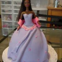 Disney Princess Doll   This cake was meant to be for a Disney Princess party.