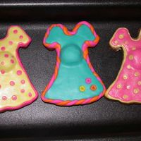 Pregnant Belly baby shower cookies