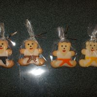 Judo Bear Cookies My husband is a Judo instructor and I made these cookies for his students.