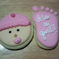 Baby Cookie Favors   These are the favors I did for a friends baby shower.