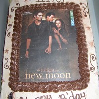 New Moon Birthday Cake