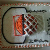 Basketball Birthday I got this idea from another cake on CC.