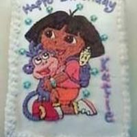 Dora The Explorer Birthday Cake Dora and Boots. Birthday Cake for a two year old.