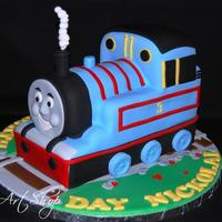 Thomas All cake and all fondant