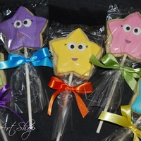 Dora Cookies! NFSC that went with the Dora cake on my photos. Such a fun theme!!!
