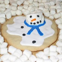 Melting Snowmen Make Cute Cookies My version of the Melting Snowman cookies made famous by Meaghan Mountford