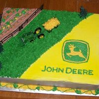John Deere Cake B-day cake for a john deere lover.