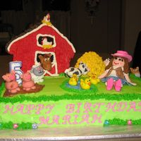 Barn Farm Cake This cake was the absolute hardest cake that I have ever made. I had so many challenges including the whole barn falling over. I was able...