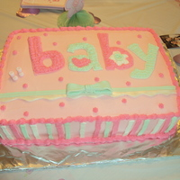 Baby Shower I was given the invitation and tried to replicate it to my best ability