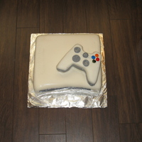 Xbox360 My husband's birthday cake