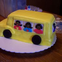School Bus Made this for a youth group's monthly birthday celebration. Thought since they were headed back to school this month a bus would be...