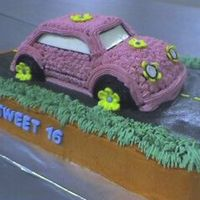 Sweet 16 Made this for a friend's daughter who turned 16. Saw another car like this on CC. Thanks for the inspiration!