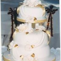 Wedding Cake I was going through my old cake photos,thought I would like to share my first attempt at a 3 tier cake,which happen to be for my son's...