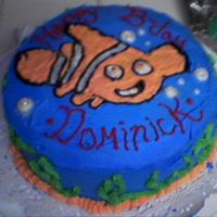Nemo Birthday Cake This was the first cake i've ever made. Its clearly amature but I'm still proud of my self =)