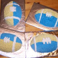 Mini Blue And Gold Footballs Mini Blue Bomber blue and gold footballs