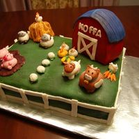 Dsc_4816Small.jpg All fondant. Barn is made out of rice krispy treats. Thank you mariak for the inspiration from your adorable animals. This cake made my...
