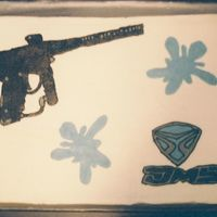 Paintball Gun Cake This was for my DH b-day