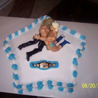 Triple H Vs Ric Flair I made this for a wrestling PPV party. It was a hit!