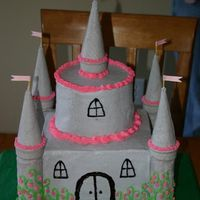 Ella's Princess Castle Princess castle for my daughter's first birthday. It was a big hit at her party!