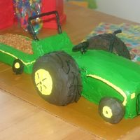 John Deere Cake For Gavin This cake was for my 2 year olds birthday party! He just loved it!