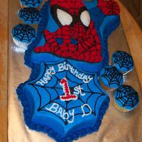 Spiderman And Webs added a bit to the character pan so it would serve more... all buttercream