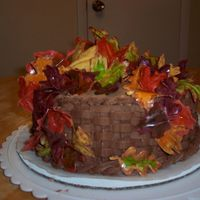 Falling Leaves Ok I have an emotional connection to this cake :-) hehe I tweeked the flavorings and everything, it is chocolate, and coffee flavored to...