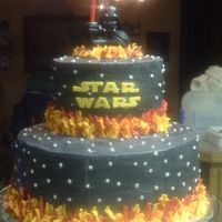 Caleb's Star Wars Cake