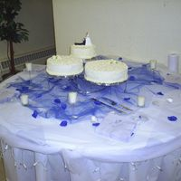 Cornelli Lace Wedding Cake This is my first wedding cake, it was for my niece who loved it.