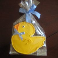 Duck Baby Shower Cookie   NFSC with Antonia 74's RI. Thanks for looking.