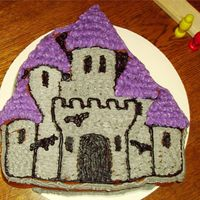 Haunted Castle I used this pan for my granddaughter's birthday and just discovered the alternate directions on the Wilton web site for this haunted...