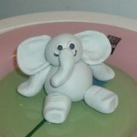 Little Elephant he was supposed to go on a birthday cake but i couldn't part with him....