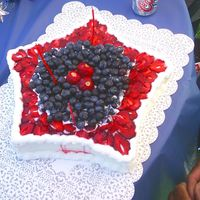 Dad's Birthday I made this cake for my dad's birthday in July.