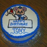 Birthday I made this cake for my brother's b-day. The design on the cake is the same design on his business card for embroidery.
