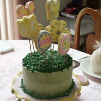 Easter Cake Super quick cake done to take to my parents house for Easter. This was the first time I used the bake right strips and I was so happy with...