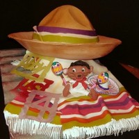 Speedy's Sombrero The cake part is the crown of the hat which is a Mexican Chocolate cake with a kick of cayenne pepper and cinnamon filled and covered with...