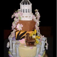 Mizzou Cake Challenge Second Place Winner This cake was made for the First Annual Mizzou Cake Challenge. Judged by none other than Duff Goldman. I took Second Place in the amatuer...