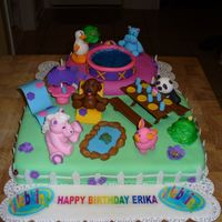 Webkinz Birthday Cake Last year I made my Niece a Little Pet Shop cake and used her characters. This year she wanted a Webkinz cake, and I could not find any...