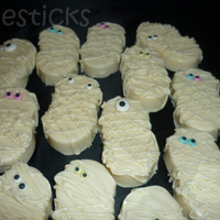 Mummy Cookies! Nutter Butter Mummies! Thanks For Looking!