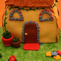Dora's House  Here's a better look at Dora's house. This is the first house I ever constructed, so there are some definite mistakes, but I&#039...