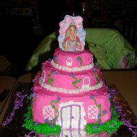 Castle Cake My daughter asked for a castle cake for her 4th birthday. This is not what I originally had in mind, but she loved it. I have found that BC...