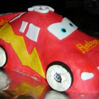 Cars  This is my attmept at Lightening McQueen. It was requested by the birthday boy. My first attmpt was a complete disaster! THanks to my...