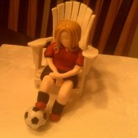 006.jpg gumpaste adirondack chair and figure. Ended up not using it so the girl didn't get finished but wanted to save the picture anyway!