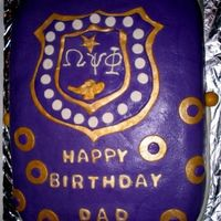 Omega Psi Phi I printed a pic of the shield then traced the outline onto the fondant. I then trimmed the picture to the next levelm traced, and cut. I...
