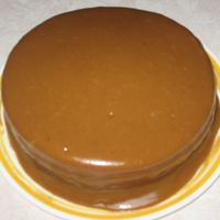 My Delicious Caramel Cake!